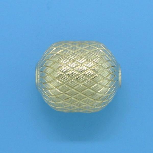 1069 - 11x13.2mm Gold Filled Fancy Bead