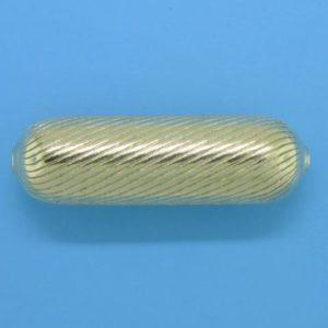 1091 - 9.5x31.2mm Gold Filled Fancy Bead