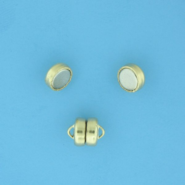 1724 - 5.5mm Gold Filled Magnetic Lock Clasp