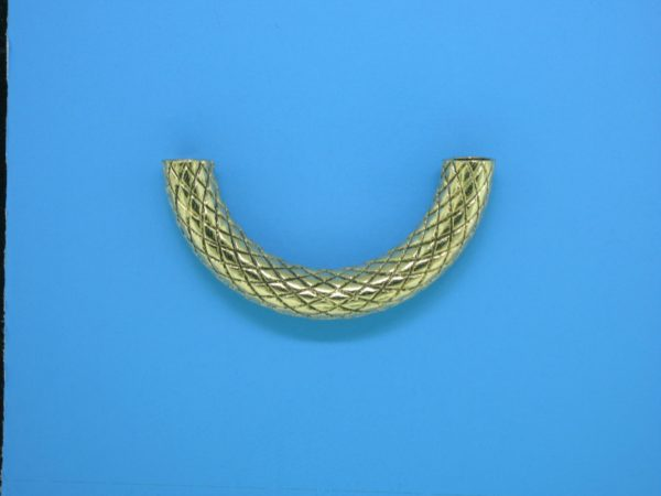 465 - 5x30mm Gold Filled Curved Tube