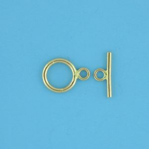 1761 - 11mm Gold Filled Toggle Clasp