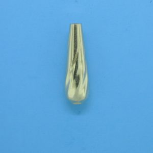 1037 - 6x19mm Gold Filled Drop Bead
