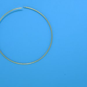 "489 - 2"" 19 Gauge Gold Filled Hoops"