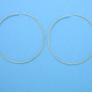 "#1823 - 1"" (21 Gauge) Gold Filled Hoops"