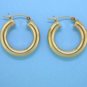 1820 - 24.5mm 14K Gold Filled Earring Hoop