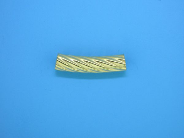 954 - 5.5x23mm Gold Filled Curved Tube