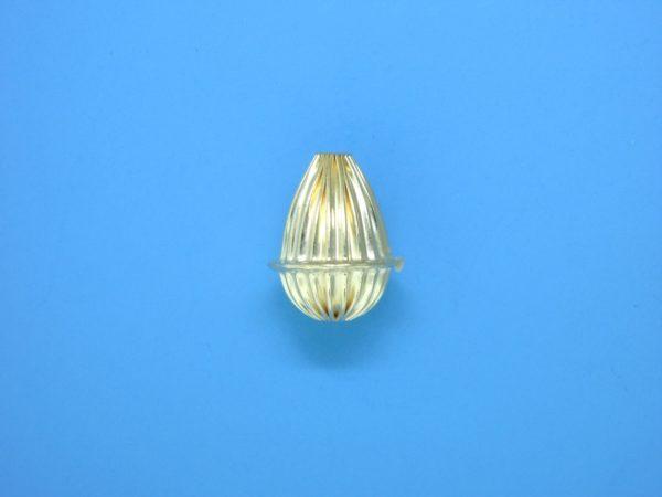 170 - 12x14.5mm Gold Filled Fancy Bead