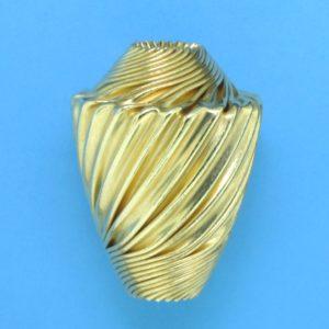 276 - 19x25.5mm Gold Filled Fancy Bead