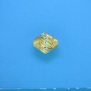 852 - 10x12mm Gold Filled Fancy Bead