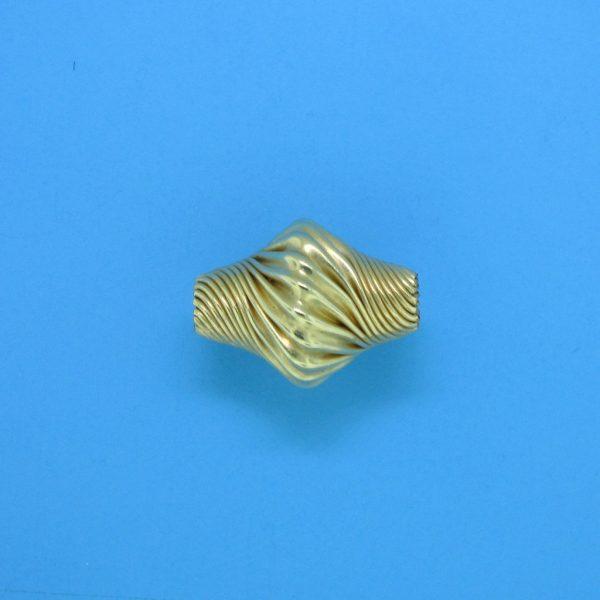 853 - 10.4x13.4mm Gold Filled Fancy Bead
