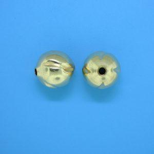 802 - 11.3mm Gold Filled Fancy Bead