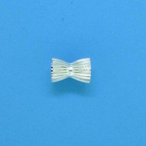642 - 6mm Sterling Silver Fancy Beads
