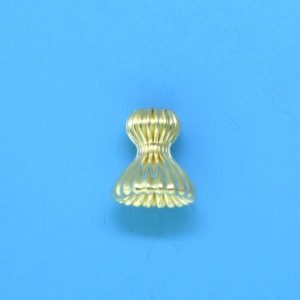168 - 7x7.2mm Gold Filled Bead Cap