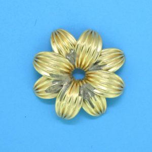 317 - Gold Filled Jagger Bead