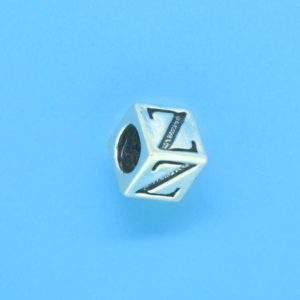 1310 - 6.5mm Sterling Silver Alphabet - Z