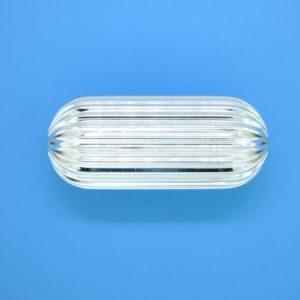1275 - 35x15mm Sterling Silver Fancy Bead