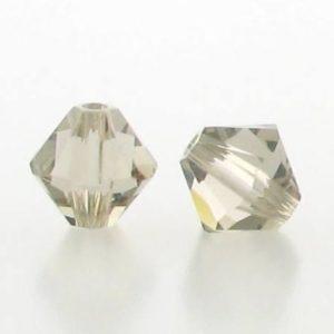 5301/5328 - 6mm Swarovski Bicone Crystal Bead -Greige