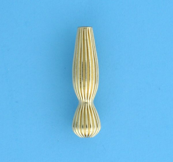 175 - 5x21mm Gold Filled Drop Bead