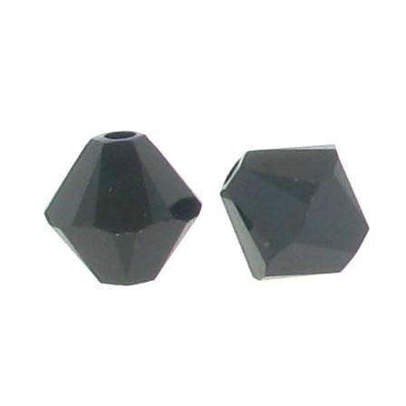 5301/5328 - 6mm Swarovski Bicone Crystal Bead - Jet