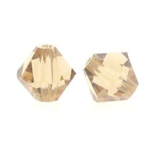 5301/5328 - 6mm Swarovski Bicone Crystal Bead -Light Colorado Topaz