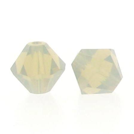 5301/5328 - 6mm Swarovski Bicone Crystal Bead -Light Grey Opal