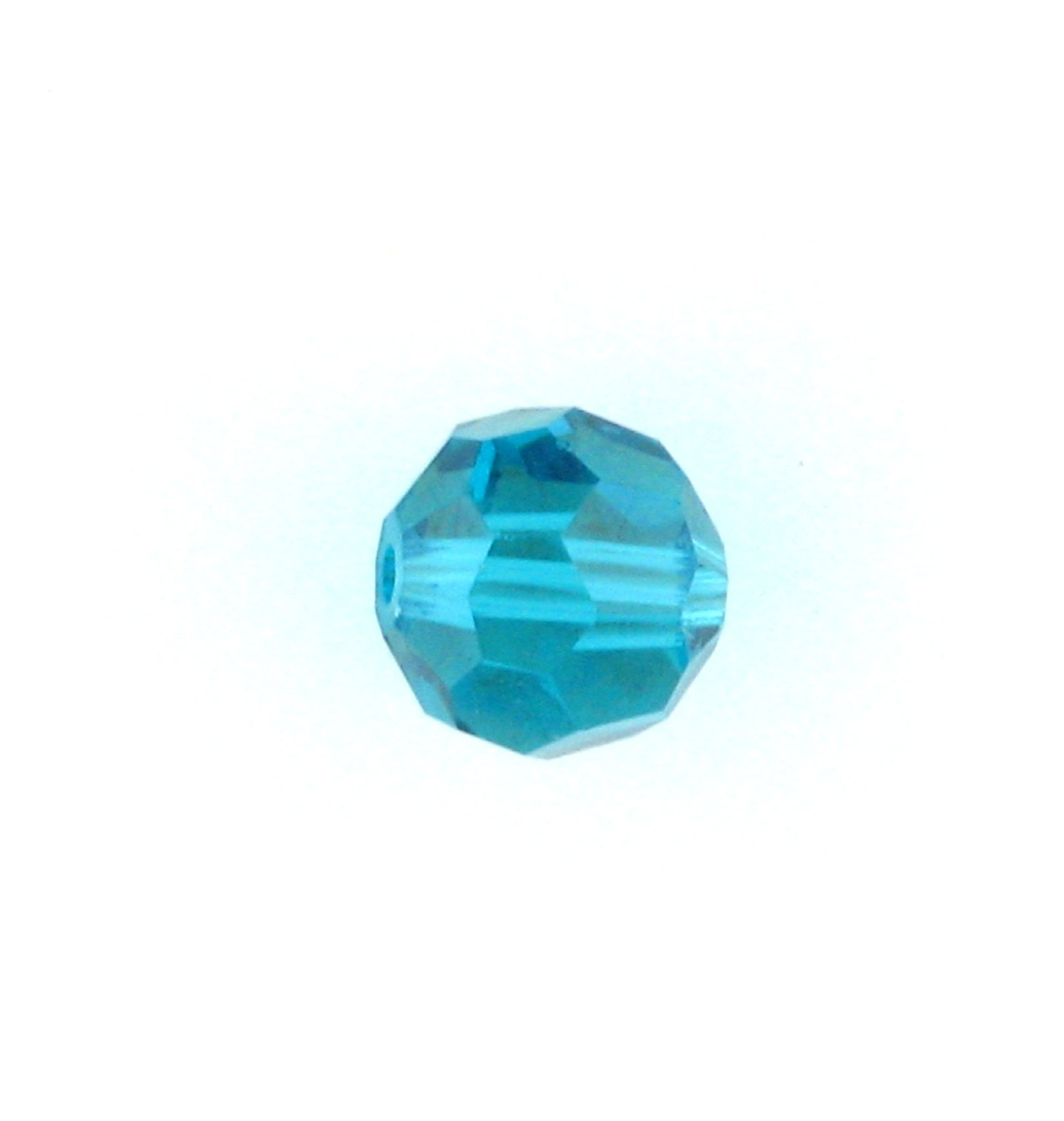 ef327b588 5000 - 4mm Swarovski Round Crystal - Blue Zircon | Crystal Findings