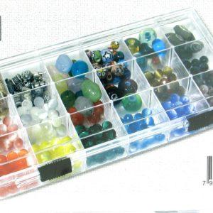 11068 - 8inx4in 18 Compartment Storage Box