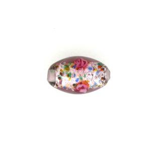 6211L - 11x8mm Oval Lamp Bead - Amethyst