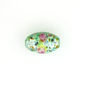 6211L - 11x8mm Oval Lamp Bead - Light Green