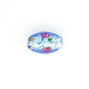 6211L - 11x8mm Oval Lamp Bead - Light Sapphire