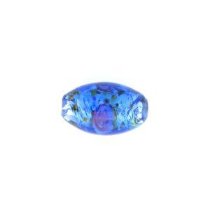 6211L - 11x8mm Oval Lamp Bead - Sapphire
