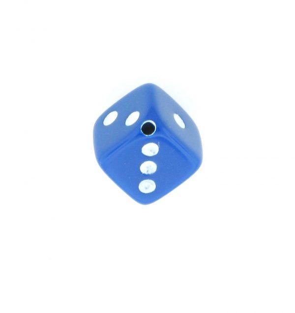 9013 - 7.5x7.5mm Medium Dice Bead - Blue