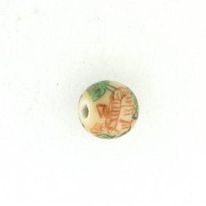 8808P - 8mm Round Porcelain Bead