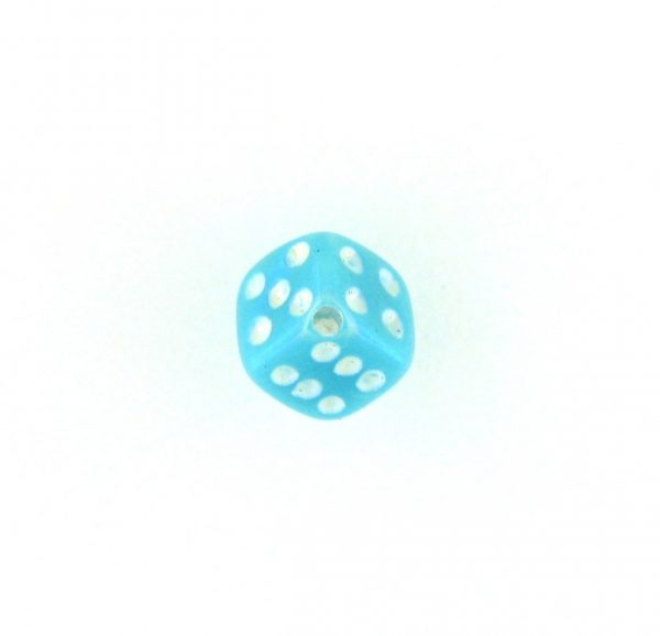 9012AB - 5x5mm Small Dice Bead - Turquoise