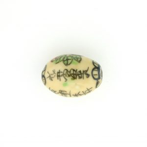 9008P - 13x19mm Oval Porcelain Bead