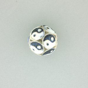 9052M - 15mm Fancy Metal Bead