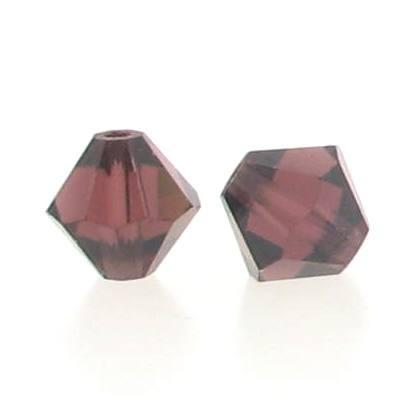 5301/5328 - 4mm Swarovski Bicone Bead - Burgundy