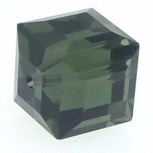 5601 - 8mm Swaovski Cube Crystal - Morion