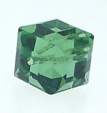 5601 - 8mm Swarovski Cube Crystal - Erinite