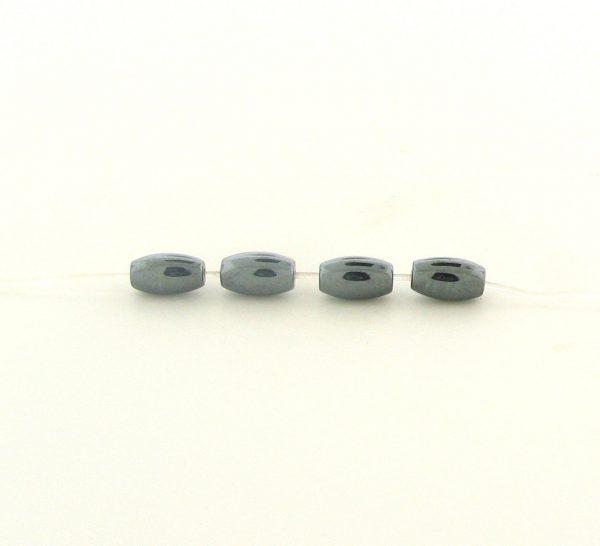 9209 - 3x5mm Oval Shape Hematite Beads - 16'' Strand