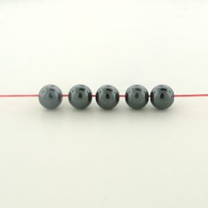 9234 - 2mm  Round Hematite Beads - 16'' Strand