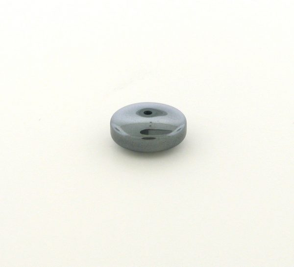 9243 - 6x16mm Round Tube Shape Hematite Beads - 16'' Strand