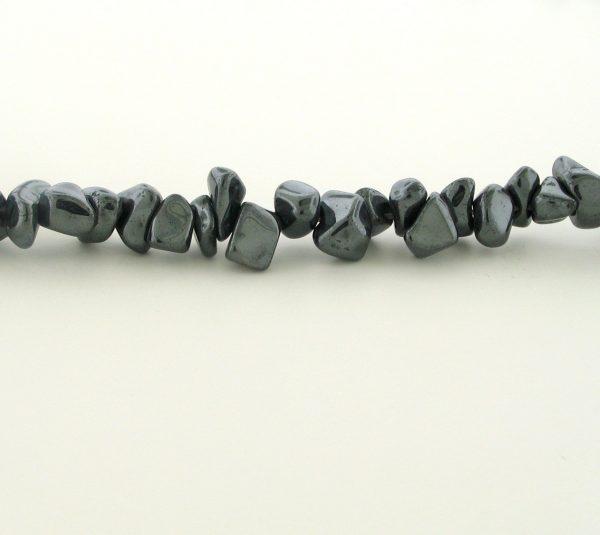 9244 - Fancy Hematite Beads - 36'' Strand