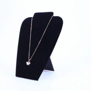 11071 - 8.5inx7.5x Velvet Necklace Stands