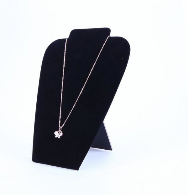 11071 - 8.5inx7.5x Velvet Necklace Stands