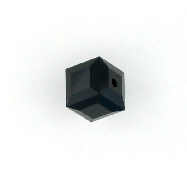 5601 - 4mm Swarovski Cube Crystal - Jet