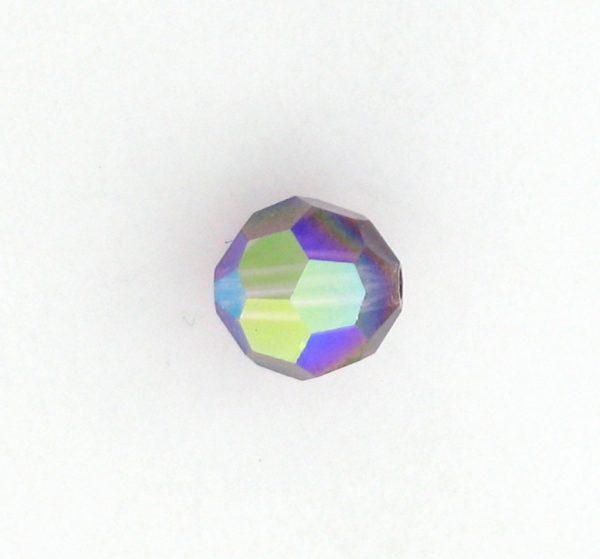 5000 - 4mm Swarovski Round Crystal - Amethyst AB