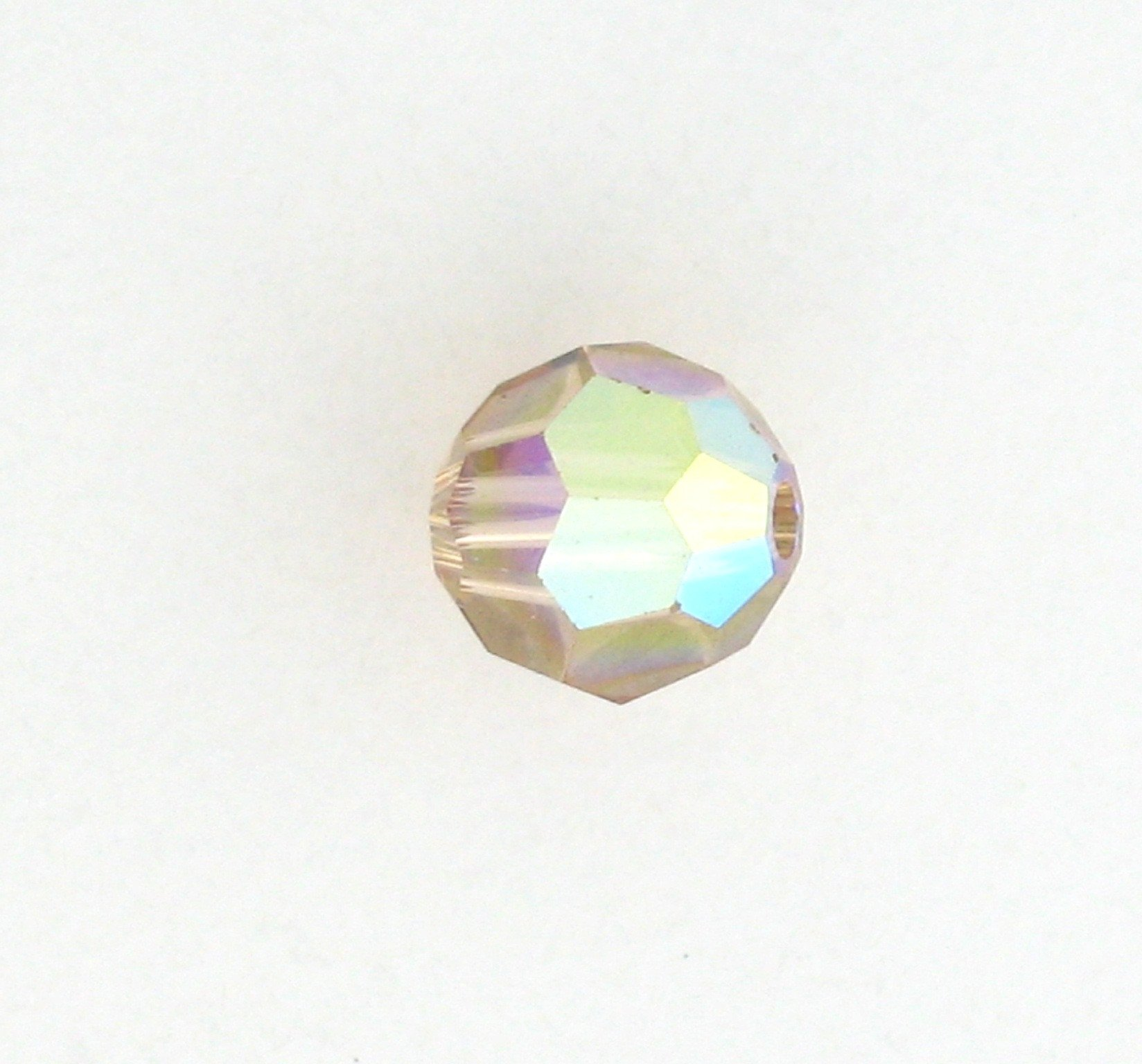 cf8ed74df 5000 - 4mm Swarovski Round Crystals - Light Colorado Topaz AB ...