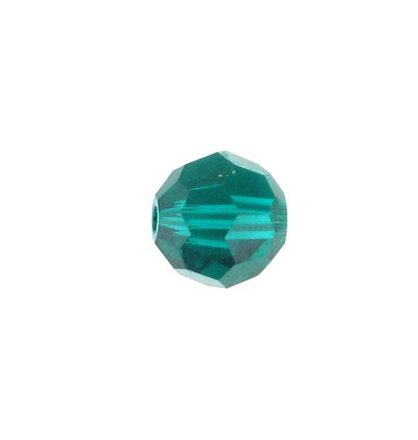 5000 - 6mm Swarovski Round Crystal Bead - Emerald