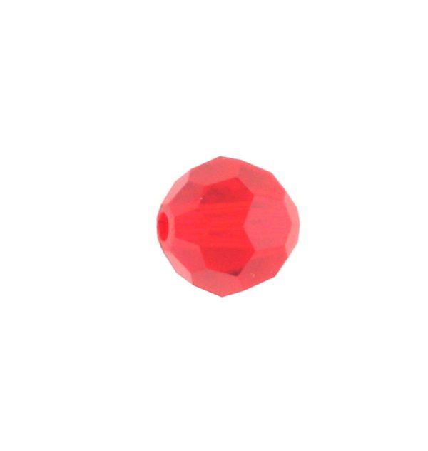5000 - 6mm Swarovski Round Crystal Bead - Light Siam